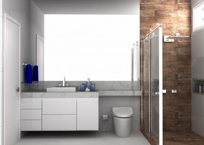 Projetos de Banheiro Planejado Roberto Almeida Interiores 2