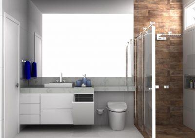 Projetos de Banheiro Planejado Roberto Almeida Interiores 3