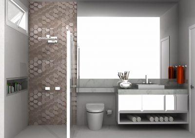 Projetos de Banheiro Planejado Roberto Almeida Interiores 4