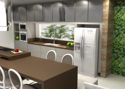 Projetos de Cozinha Planejada Roberto Almeida Interiores 23