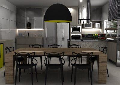 Projetos de Cozinha Planejada Roberto Almeida Interiores 25