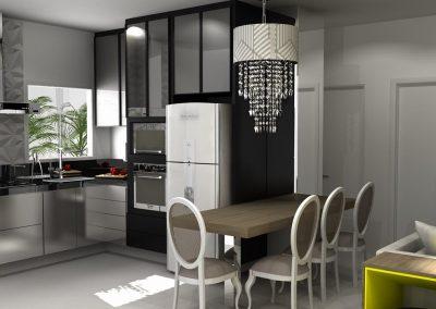 Projetos de Cozinha Planejada Roberto Almeida Interiores 34