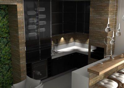 Projetos de Cozinha Planejada Roberto Almeida Interiores 5