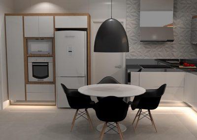 Projetos de Cozinha Planejada Roberto Almeida Interiores 9
