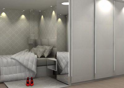 Projetos de Quarto e Closet Planejados Roberto Almeida Interiores 15