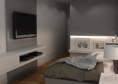 Projetos de Quarto e Closet Planejados Roberto Almeida Interiores 28