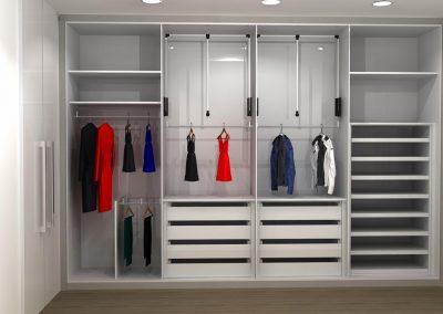 Projetos de Quarto e Closet Planejados Roberto Almeida Interiores 4
