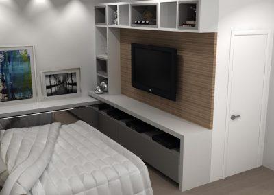 Projetos de Quarto e Closet Planejados Roberto Almeida Interiores 9