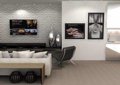 Projetos de Sala Planejada Roberto Almeida Interiores